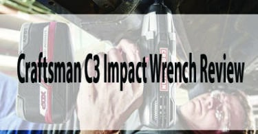 Craftsman C3 Impact Wrench Review