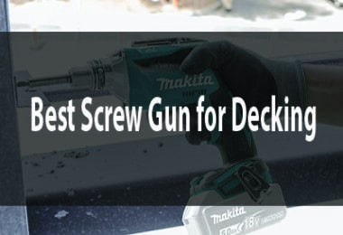 best screw gun for decking