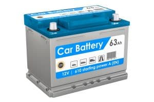 Using the car's battery