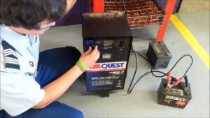 Charging A Car Battery While It Is Still Connected