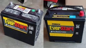 Steps on how to upgrade a smaller 96r battery to a larger battery group