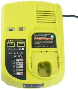 Lasica P117 dual chemistry battery charger for Ryobi