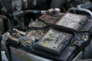 Reasons for corrosion of the battery terminals